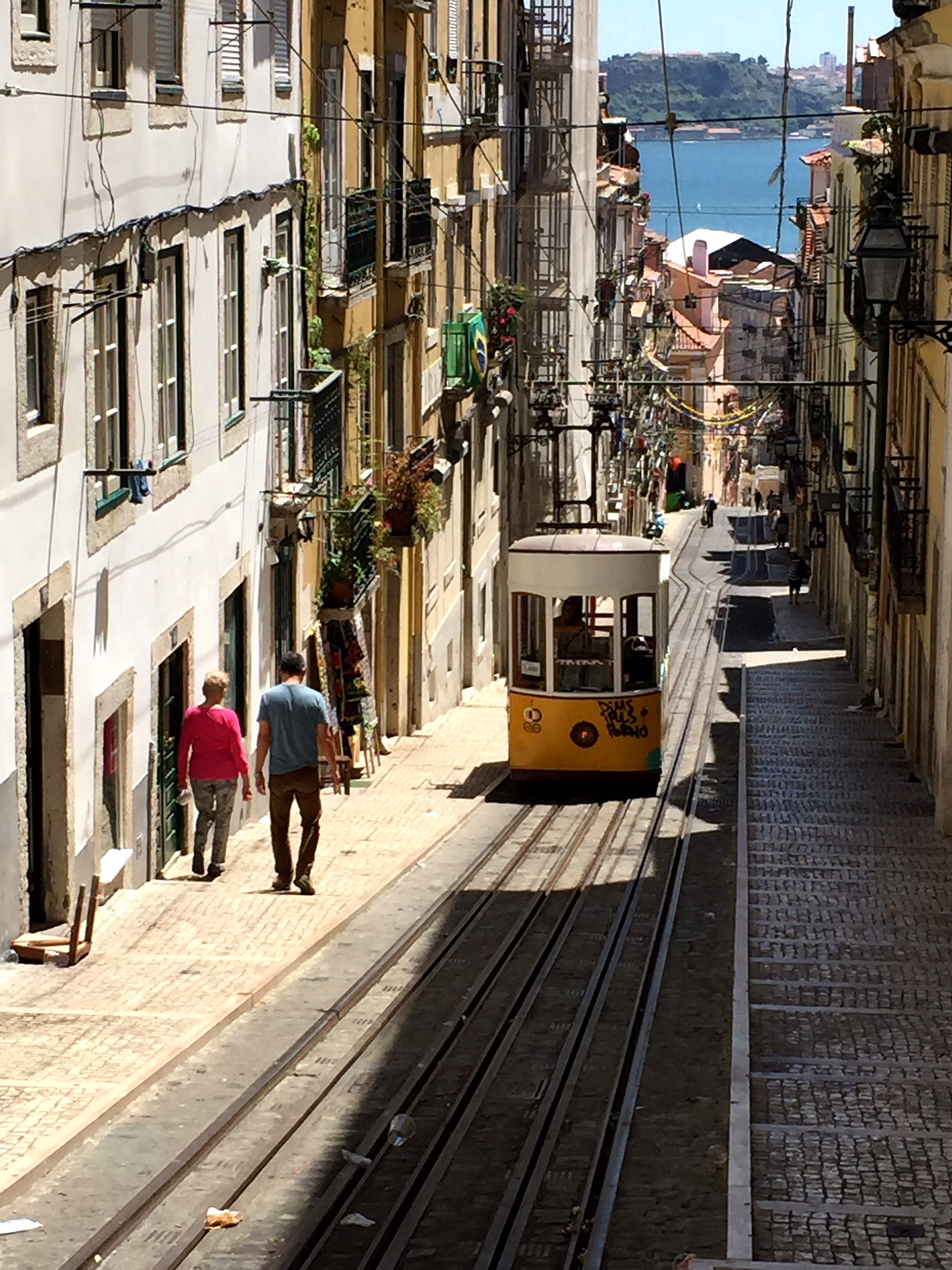 Lisbon Trams and hills