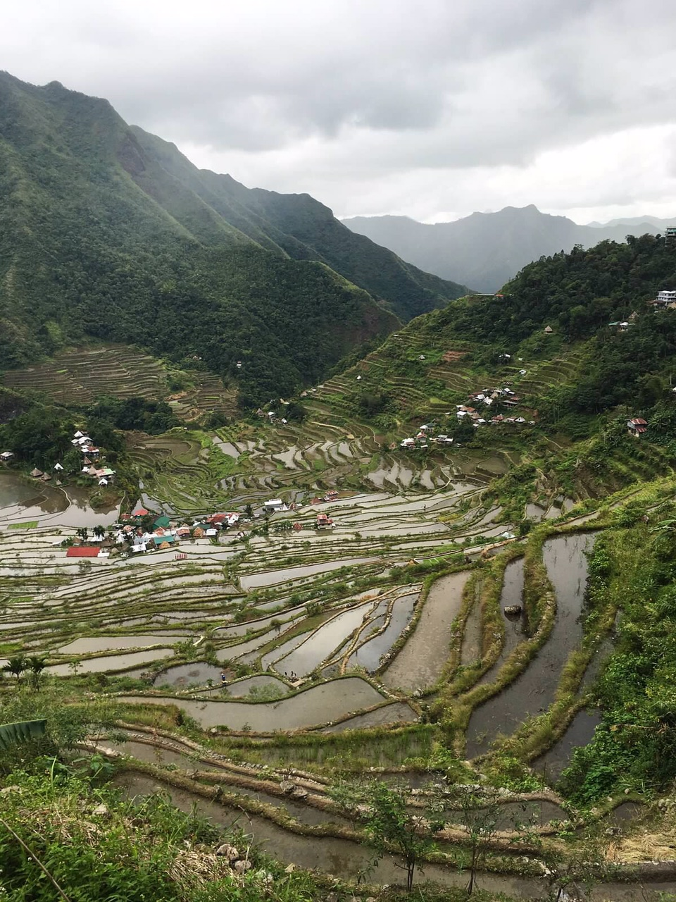 The UNESCO Batad rice terraces