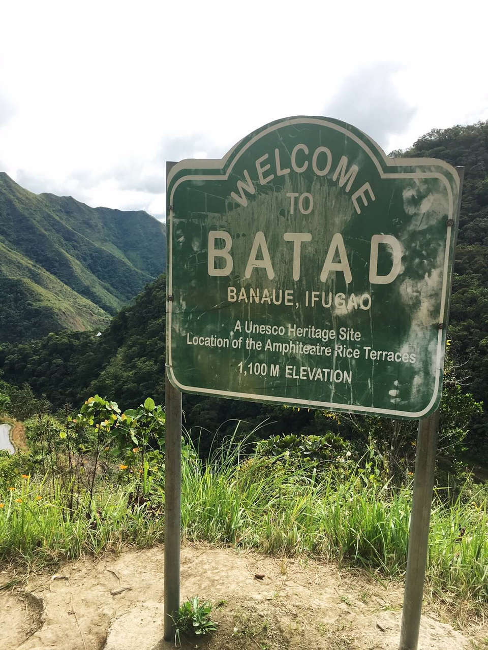 Entrance to batad hike