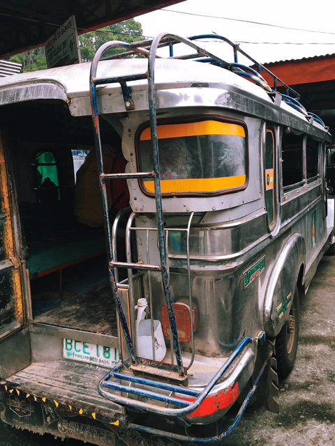 The jeepney transfer