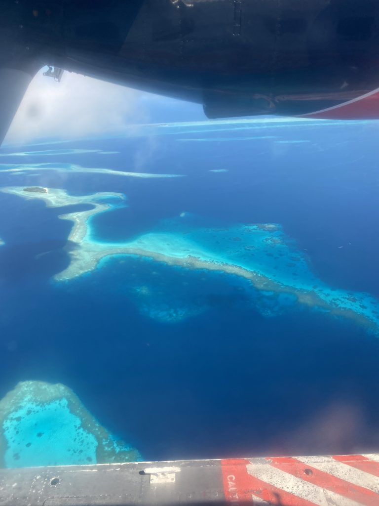 Air views of the Maldives
